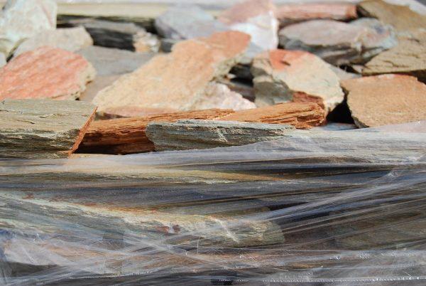 Autumn Brown Mix Quartzite Cladding