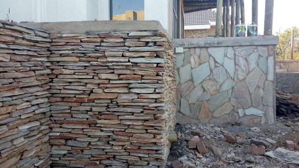 Autumn Emerald Mix Quartzite Cladding Wall