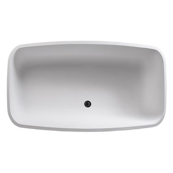 Deonne Freestanding Bathtub DADO Top View