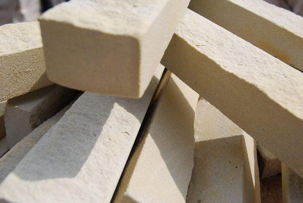 Lesotho Sandstone Riven Cladding Bricks