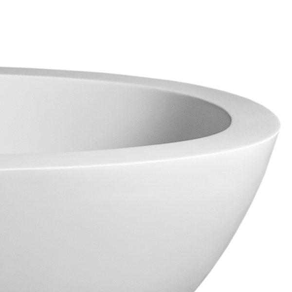 Moloko Freestanding Bathtub DADO Corner