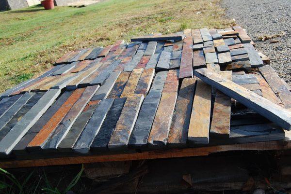 Multi Colour Slate Riven Autumn Crate