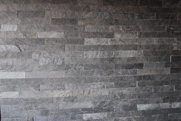 Silver Mist Quartzite Riven Installed