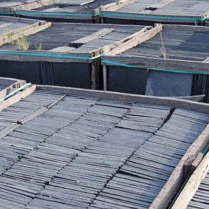 Slate Tiles Silver Blue