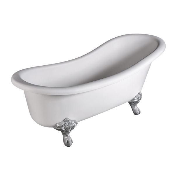 Sofia Slipper Freestanding Bathtub DADO Angle